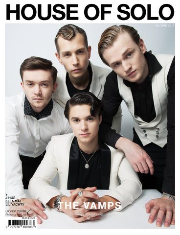 HOUSE OF SOLO SUMMER ISSUE 2017- THE VAMPS COVER (PRINT)