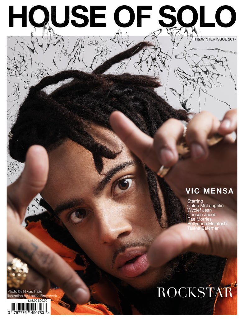 HOUSE OF SOLO Winter Issue 2017- Vic Mensa