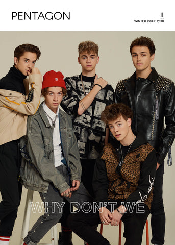 Why Don't We Cover ( Pentagon Magazine Pre Order)