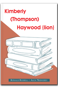 Kimberly (Thompson) Haywood {lion}
