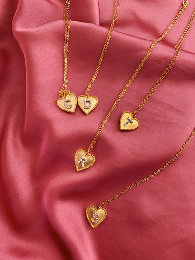 Personalizable Heart Necklace