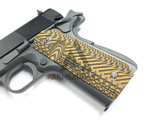 1911 Custom Fiberglass Grip - Brown