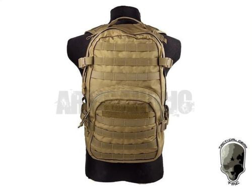 TMC Compact Hydration Backpack (Khaki) Tactical Airsoft Gear