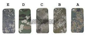 Olive Camouflage Monogram Army Cell Phone Case Cover for  iPhone 4 #E