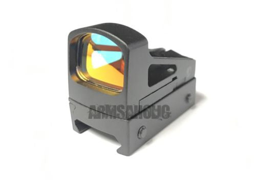 S-Style Reflex Mini Sight with Glk mount Vented Mount & Spacers for Airsoft