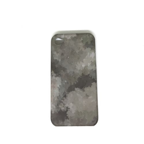 Olive Camouflage Monogram Army Cell Phone Case Cover for  iPhone 4 #C