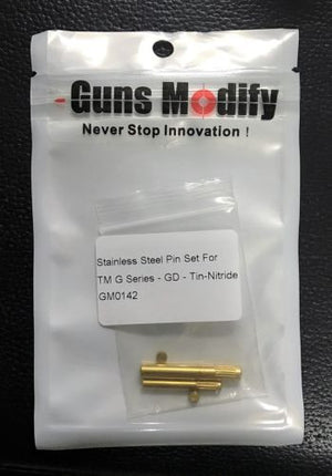 Guns Modify Stainless Steel Pin Set for Marui G-Series GBB Pistol (Gold) #GM0142