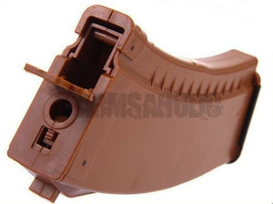 500rd Hi-Capacity AK magazine Loading for AEG Tactical Airsoft (Wood Color)