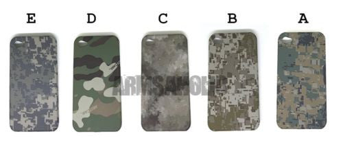 Olive Camouflage Monogram Army Cell Phone Case Cover for  iPhone 3G 3Gs 4 #A