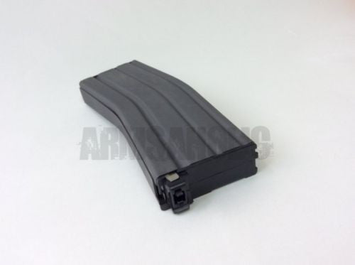 5pcs Pack Box Set Bomber 130rd Metal Magazine For AEG Airsoft - Black