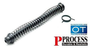Guarder S-TYPE Steel Spring Guide for G17 GBB #GLK-118(BK)
