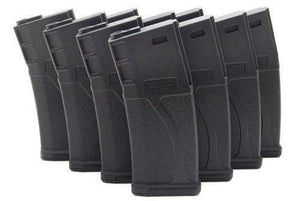Lot 10 BLUEBOX 140rd Mid-Cap Magazine for M 16/M 4 AEG Tactical Airsoft