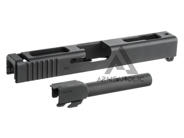 Guns Modify G18C CNC Slide and Barrel Set for Marui G18C GBB (2016 Ver.)