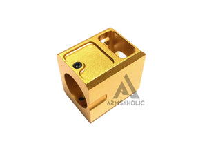 5KU 14mm- CCW (negative/Anti-Clockwise) Stubby Comp Compensator for G Series - Gold #GB-448-G