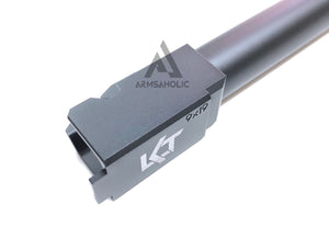 Nova CNC Aluminum LK-Style Threaded barrel for Marui G34 GBB Black