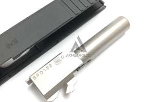 Guns Modify CNC Aluminum G26 Slide / Stainless Barrel Set for Tokyo Marui G26 GBB series