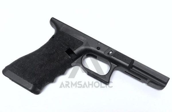 Armsaholic Custom T-style Lower Frame For Marui 17 / 18C / 34 Airsoft GBB - Black