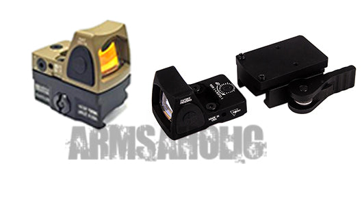 Ace 1 Arms RMR Style Control Sensor Red Dot Sight with QD Mount - Black/FDE