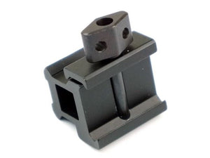 Army Force 20mm 2-Slots 0.83-Inch See-Thru Mini Riser Mount #AF-MT0101