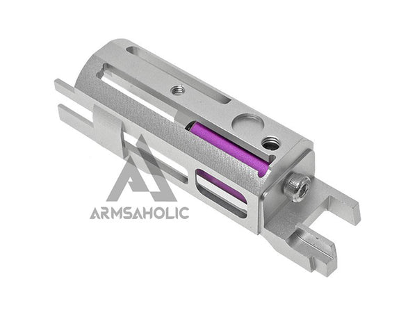 COWCOW Tech B02 Ultra Lightweight Blowback Housing (Piston Head ver.) Sliver HI-CAPA 1911