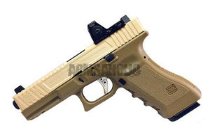 ArmsAholic Custom SAI Costa style with RMR GBB Pistol - FDE color