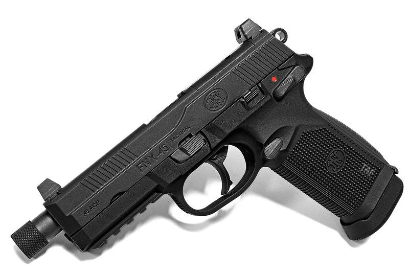Cybergun FNX-45 Tactical Gas Blowback Pistol - Black