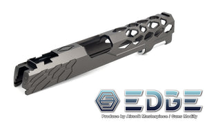 "EDGE Custom ""SHIELD"" Aluminum Standard Slide for Hi-CAPA/1911"