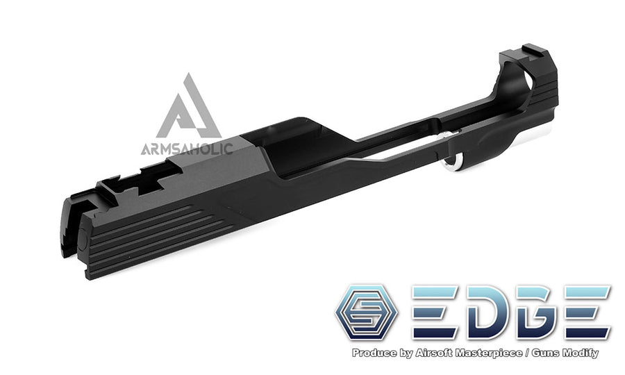 "EDGE Custom ""MEGA"" Aluminum Standard Slide for Hi-CAPA/1911 Black"