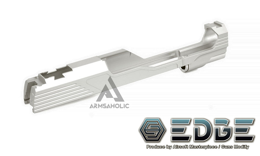 "EDGE Custom ""MEGA"" Aluminum Standard Slide for Hi-CAPA/1911 Sliver"