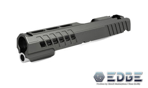 "EDGE Custom ""ANA"" Aluminum Standard Slide for Hi-CAPA/1911 Black"