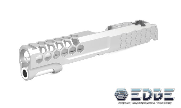 "EDGE Custom ""HIVE"" Aluminum Standard Slide for Hi-CAPA/1911 Sliver"