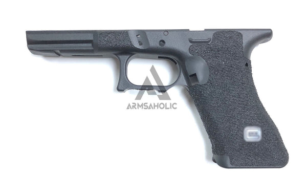 ArmsAholic Custom FI-style Lower Frame for Marui G17 / G18C Airsoft GBB - Black New Version