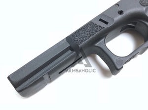 ArmsAholic Custom FI-style Lower Frame for Marui 17 / 18C Airsoft GBB - Black New Version