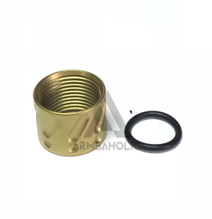 5KU Knurled Thread Protector -14mm CCW #GB-457