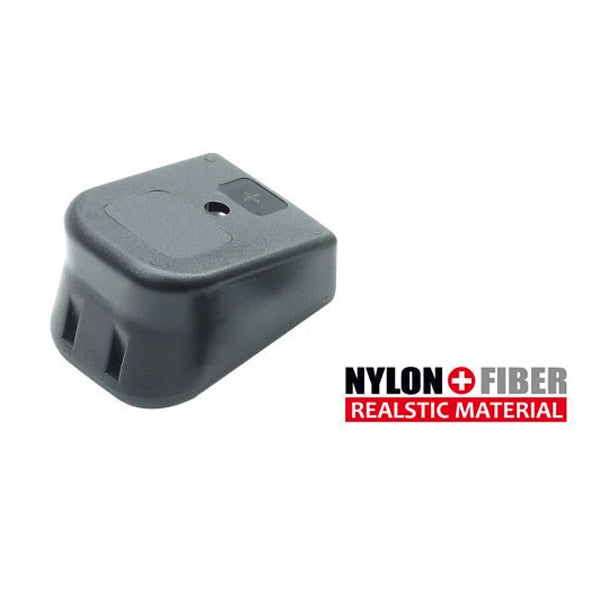 Guarder Nylon Extension Magazine Base for Glk-Series GBB (Black) #GLK-106BK