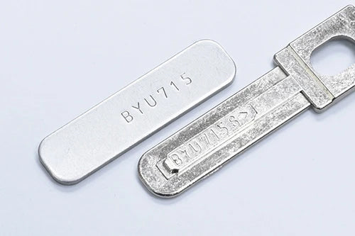 Guarder Stainless Serial Number Tag for MARUI G19 (Original Number) Silver color #GLK-158(A)