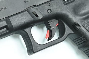 Guarder Ridged Trigger For G-Series GBB (BLACK/RED) #GLK-84(BK/RED)