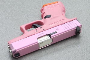 Guarder G26 CNC Aluminum Slide & Stainless Barrel Set for TM G26 (Pink) #GLK-94(P)