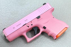 Guarder G26 CNC Aluminum Slide & Stainless Barrel Kit for TM G26 Custom (Pink) #GLK-95(P)