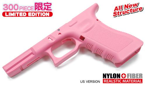 Guarder Original Frame for MARUI G-17/18C (US. Pink) #GLK-99(P)