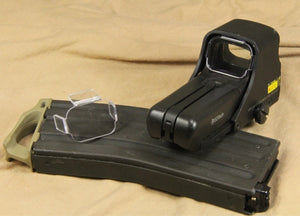 Guns Modify transparent PC Lens Protector for Eotech Holographic Sight Airsoft #GM0028