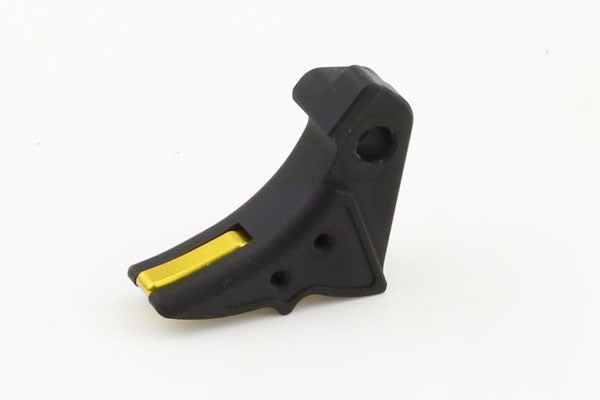 Guns Modify Aluminum Adjustable Trigger for Marui G-Series GBB (Black/S Style) #GM0026