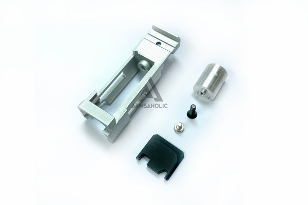 Guns Modify Separately Rear Plate CNC Blow Back Housing For Marui G18C #GM0051