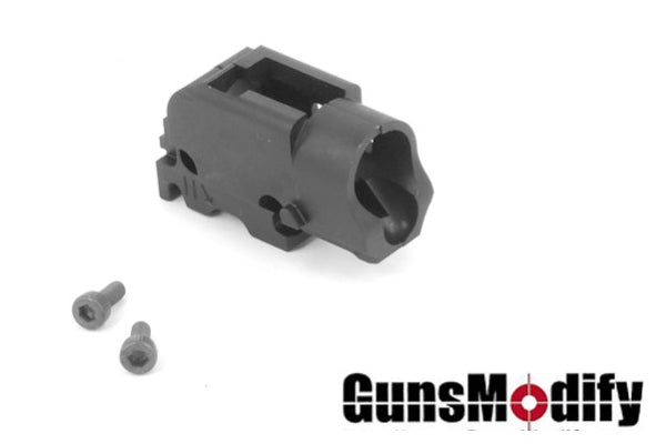 Guns Modify Steel CNC Hop Up Base for Marui G17 / 18C #GM0146 - BLACK