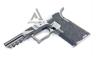 Armsaholic Custom P80 Lower Frame For Marui 17 / 18C Airsoft GBB Black