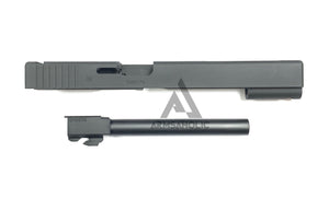 Nova G17L Aluminum Slide for Marui Arisoft G17 GBB series - Black Limited