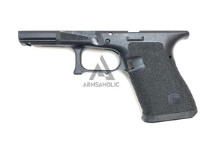 ArmsAholic Custom T-style 02 Lower Frame for Marui G19 Airsoft GBB - Black