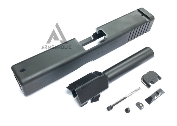 Bomber CNC Steel G19 Slide Kit for Umarex / VFC G19 GEN 3 GBB G-Series - Black Limited Edition