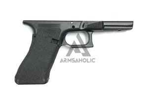 Armsaholic Custom T-style Lower Frame 02 For Marui 17 / 18C / 34 Airsoft GBB - Black