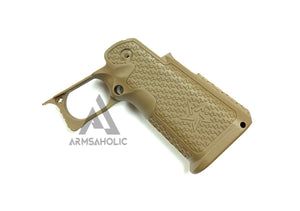 Nova S-style Lower Frame For Marui HI-CAPA Airsoft GBB Coyote Tan